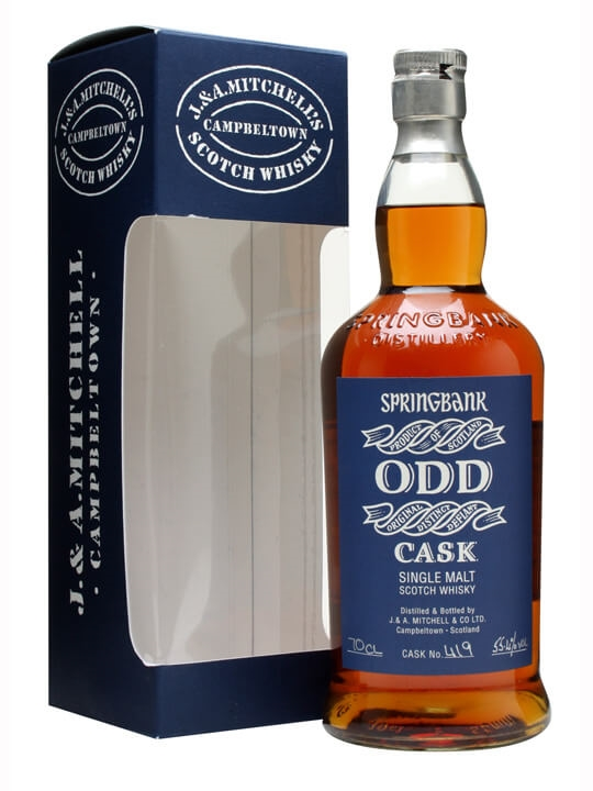 Springbank Odd / Red Wine Cask #419 Campbeltown Whisky