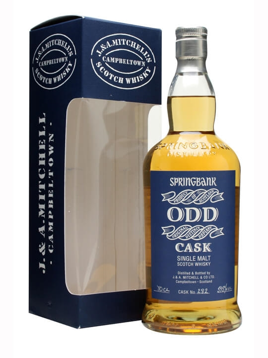 Springbank Odd / Light Rum Cask #282 Campbeltown Whisky