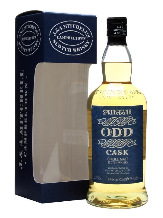 Springbank Odd / Light Rum Cask #1997/12/378 Campbeltown Whisky