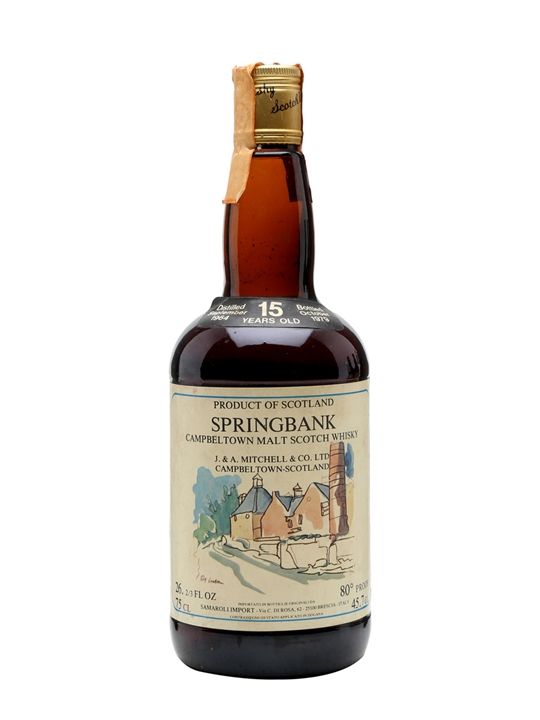 Springbank 1964 / 15 Year Old / Samaroli Campbeltown Whisky