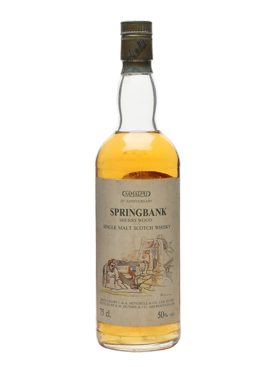 Springbank 1980 / Samaroli 20th Anniversary Campbeltown Whisky