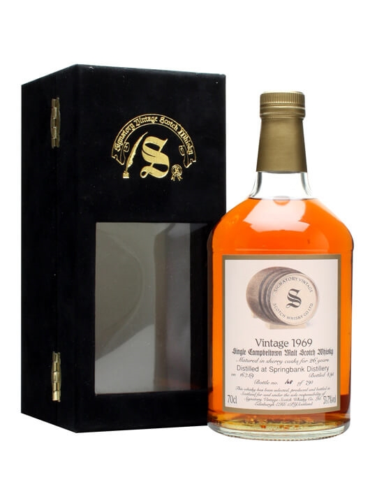 Springbank 1969 / 26 Year Old / Signatory Campbeltown Whisky