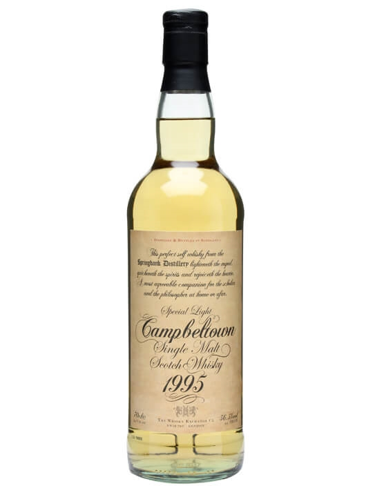 Springbank 1995 Cask Strength / The Whisky Exchange Campbeltown Whisky