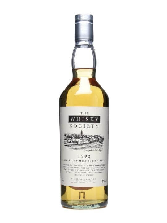 Springbank 1992 / 15 Year Old Campbeltown Single Malt Scotch Whisky