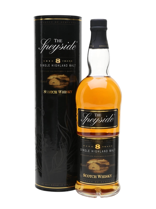 The Speyside 8 Year Old Speyside Single Malt Scotch Whisky