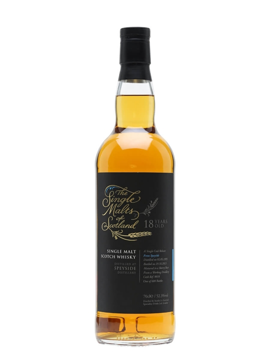 Speyside 1995 / 18 Year Old / Sherry Butt Speyside Whisky
