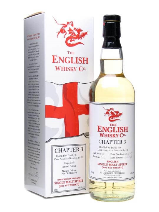 St. George's Distillery Chapter 3 / English Whisky Co.