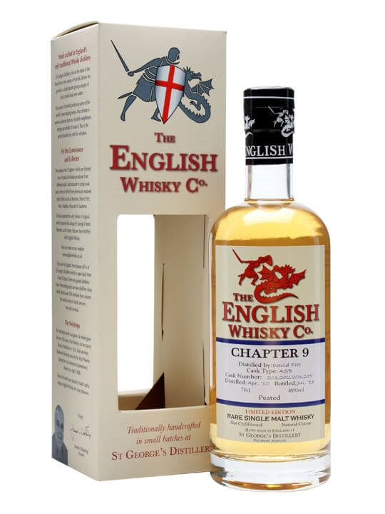 St. George's Distillery Chapter 9/ Peated/ English Whisky Co English Whisky