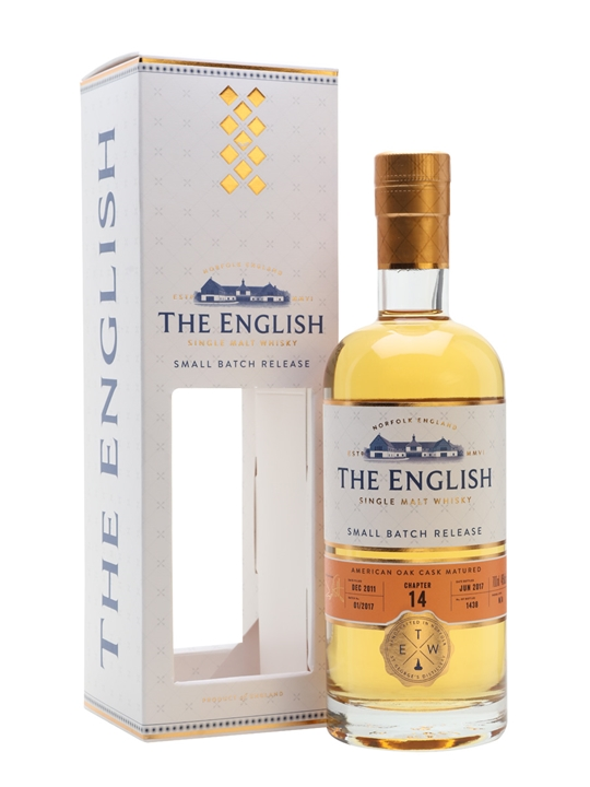 English Whisky Co. Chapter 14 / Unpeated English Single Malt Whisky