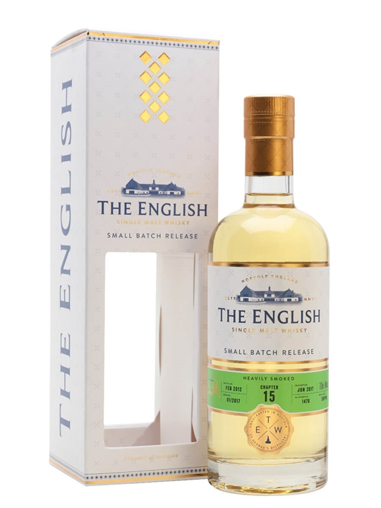 English Whisky Co. Chapter 15 / Heavily Peated English Whisky