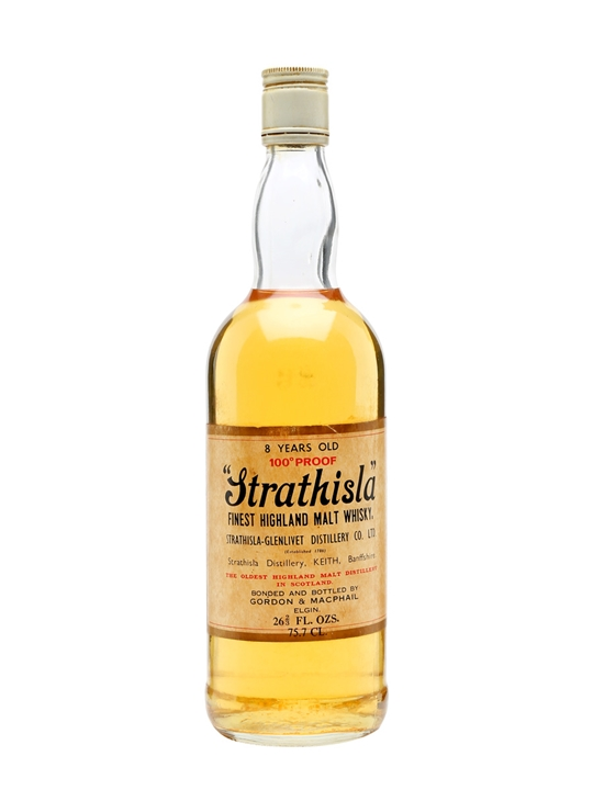 Strathisla 8 Year Old / Bot.1970s Speyside Single Malt Scotch Whisky