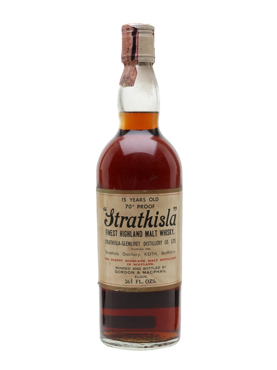 Strathisla 15 Year Old / Bot.1970s Speyside Single Malt Scotch Whisky