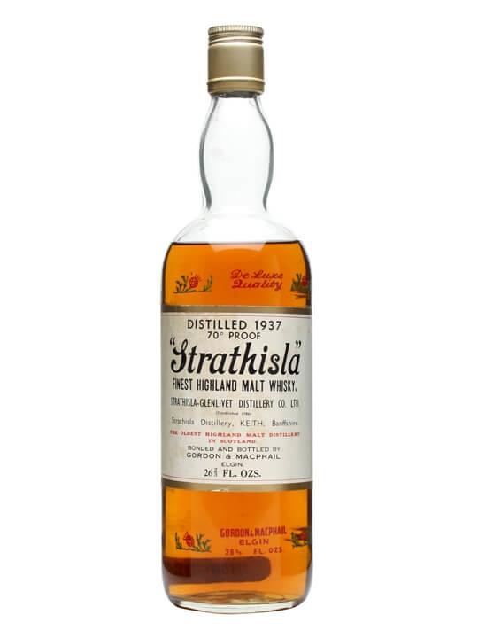 Strathisla 1937 / Bot.1970s / Gordon & Macphail Speyside Whisky