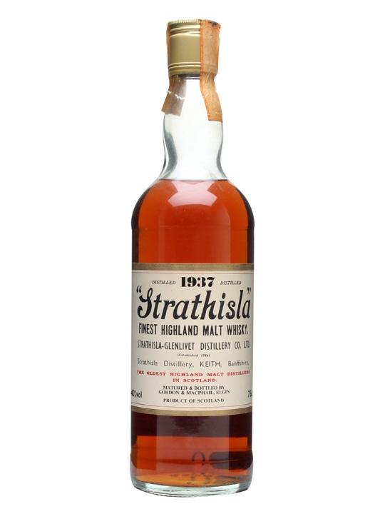 Strathisla 1937 / Bot.1980s / White Label Speyside Whisky