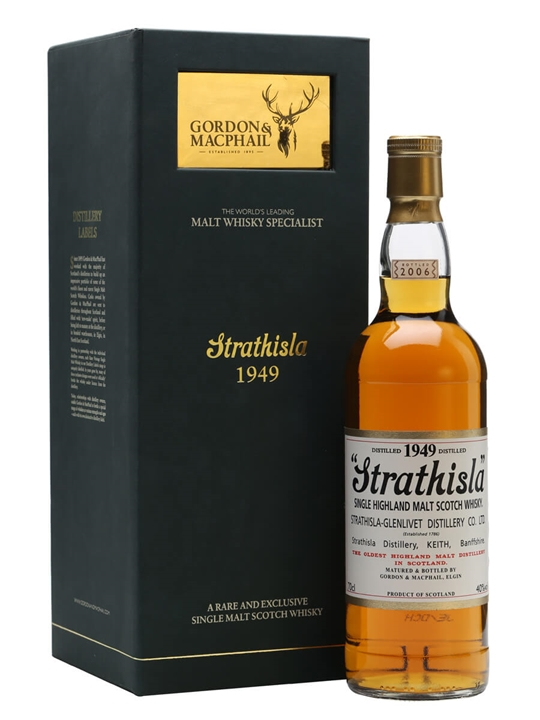 Strathisla 1949 / Gordon & Macphail Speyside Single Malt Scotch Whisky