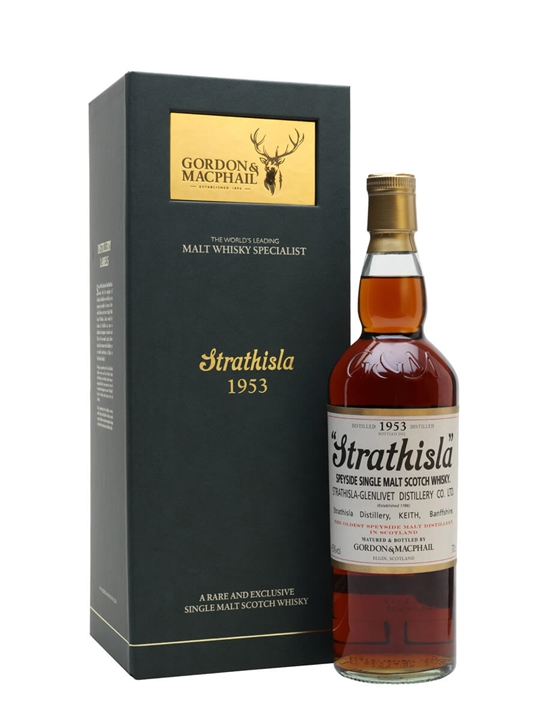Strathisla 1953 / Gordon & Macphail Speyside Single Malt Scotch Whisky