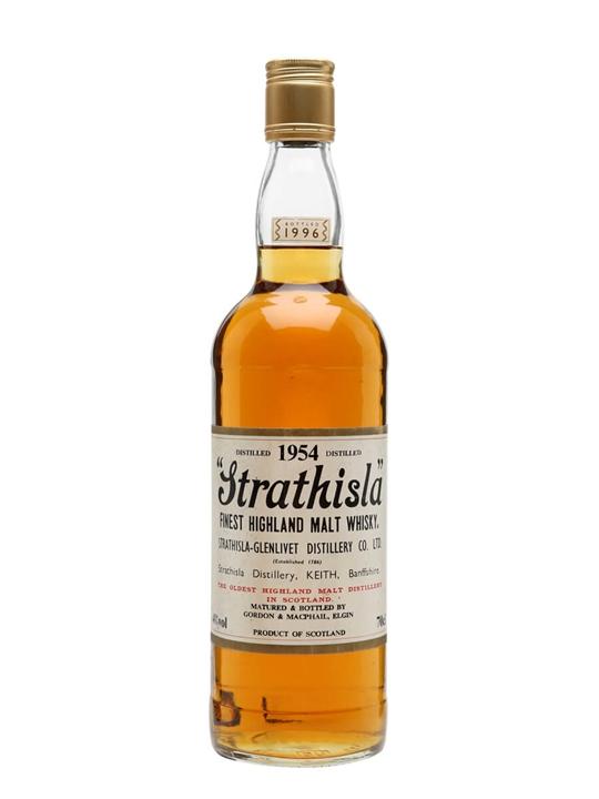 Strathisla 1954 / Bot.1996 / Gordon & Macphail Speyside Whisky