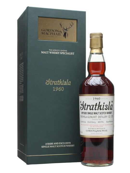 Strathisla 1960 / Gordon & Macphail Speyside Single Malt Scotch Whisky