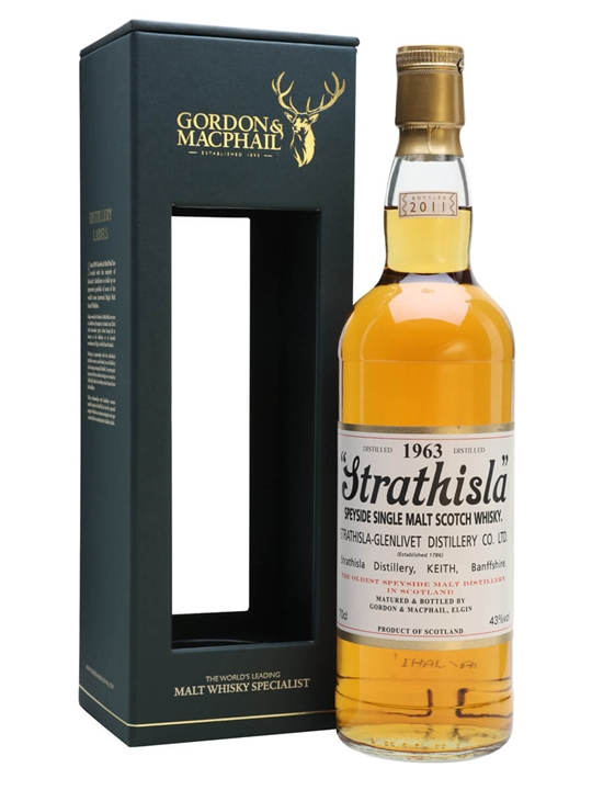 Strathisla 1963 / Gordon & Macphail Speyside Single Malt Scotch Whisky