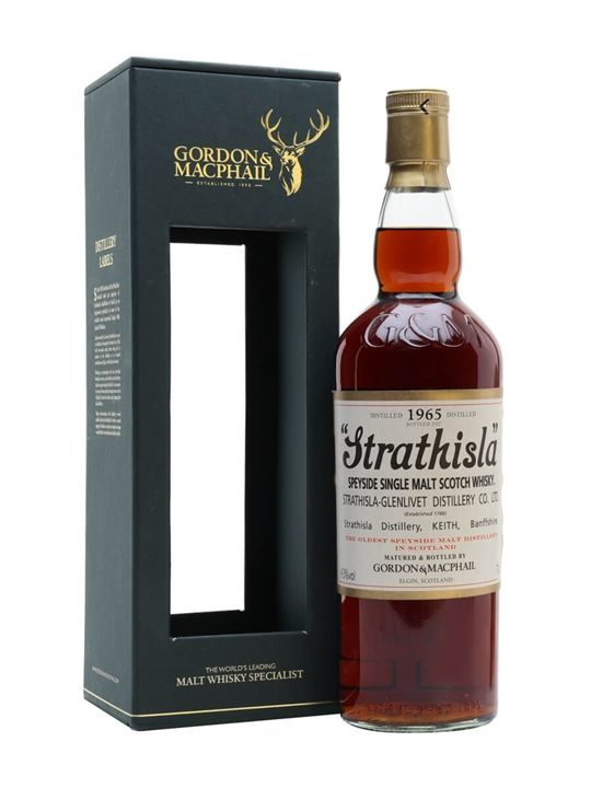 Strathisla 1965 / Gordon & Macphail Speyside Single Malt Scotch Whisky