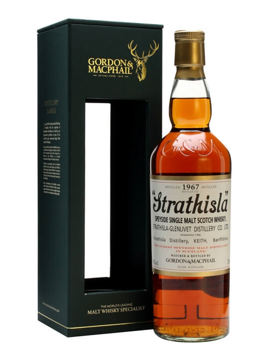 Strathisla 1967 / Gordon & Macphail Speyside Single Malt Scotch Whisky