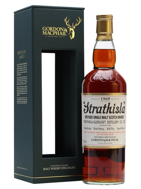Strathisla 1969 / Gordon & Macphail Speyside Single Malt Scotch Whisky
