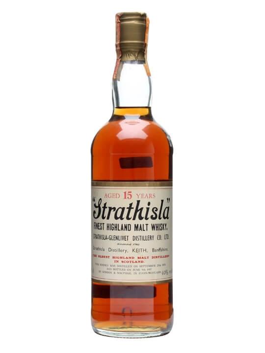 Strathisla 1970 / 15 Year Old / Gordon & Macphail Speyside Whisky
