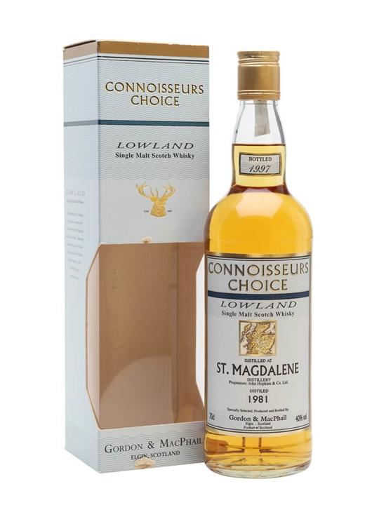 St. Magdalene 1981 / Bot.1997 / Connoisseurs Choice Lowland Whisky