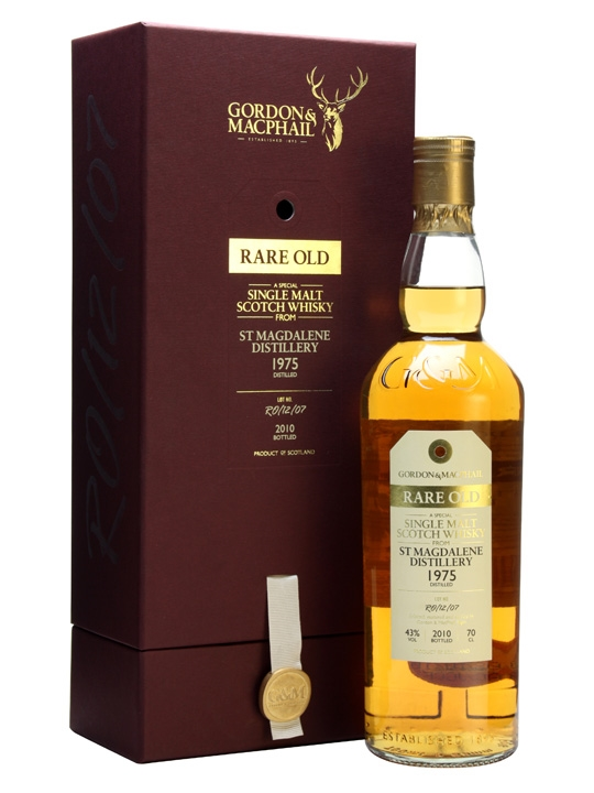 St Magdalene 1975 / Rare Old Series / Gordon & Macphail Lowland Whisky