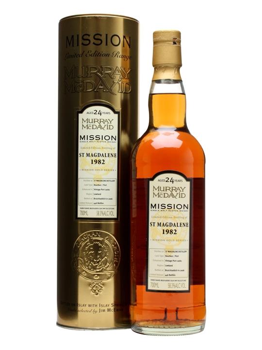 St. Magdalene 1982 / 24 Year Old / Port Finish Lowland Whisky