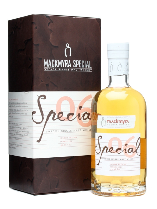 Mackmyra Special 06 / Summer Meadow Swedish Single Malt Whisky