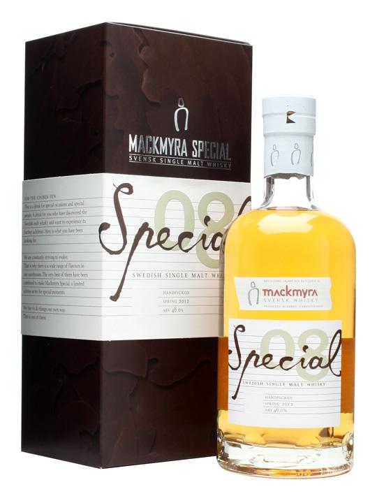 Mackmyra Special 08 / Handpicked Swedish Single Malt Whisky