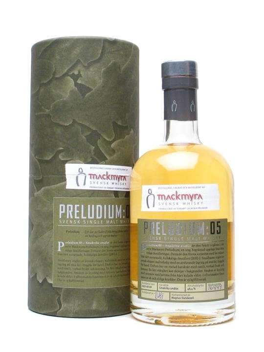 Mackmyra Preludium 05 Swedish Single Malt Whisky