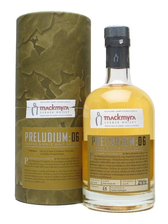 Mackmyra Preludium 06 Swedish Single Malt Whisky