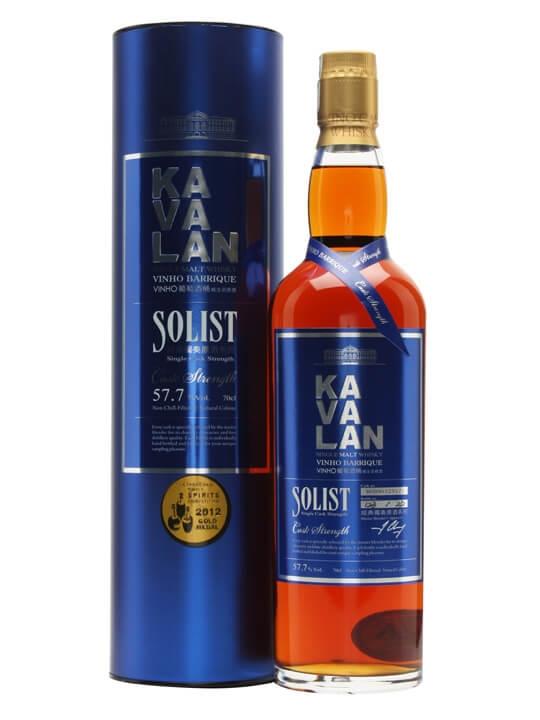 Kavalan Solist Vinho Wine Cask Matured Taiwanese Whisky Taiwanese Whisky