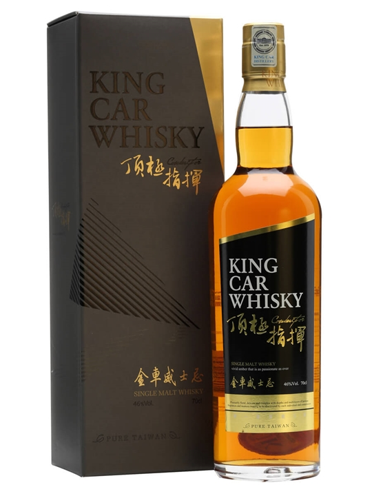 King Car Conductor Taiwanese Single Malt Whisky