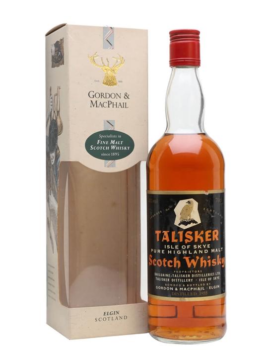 Talisker 1955 / Bot.1980s / Gortdon & Macphail Island Whisky