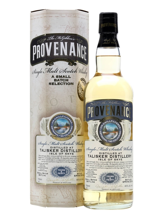 Talisker / Young & Feisty / Provenance Island Whisky