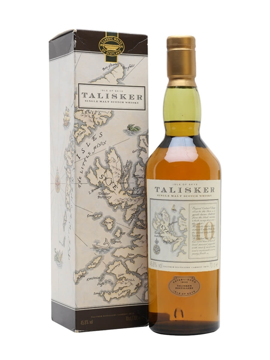 Talisker 10 Year Old / Bot.1990s Island Single Malt Scotch Whisky
