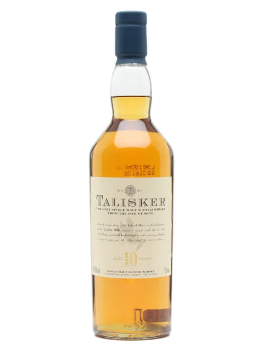 Talisker 10 Year Old / Old Presentation Island Whisky