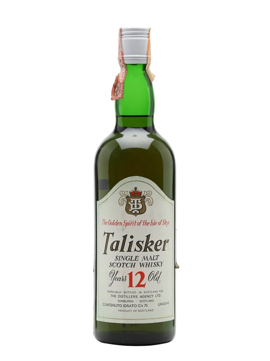 Talisker 12 Year Old / Bot.1970s Island Single Malt Scotch Whisky