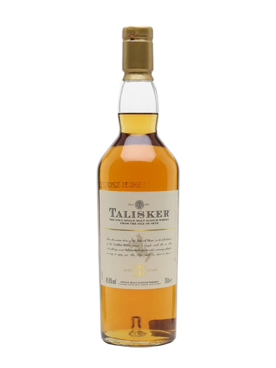Talisker 18 Year Old / Old Presentation Island Whisky