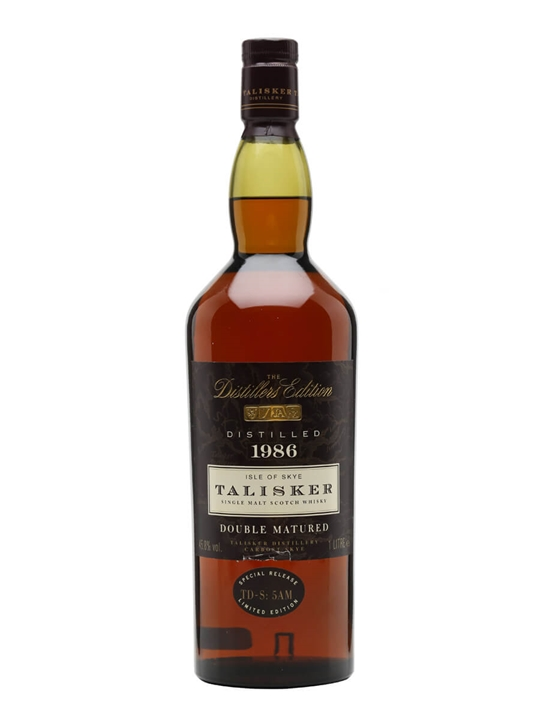 Talisker 1986 / Distillers Edition / 100cl Island Whisky