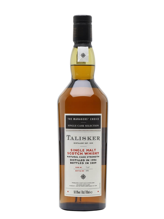 Talisker 1994 Managers' Choice / Sherry Cask Island Whisky