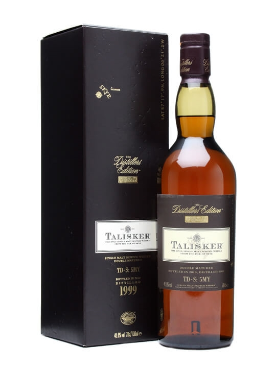 Talisker 1999 / Distillers Edition Island Single Malt Scotch Whisky