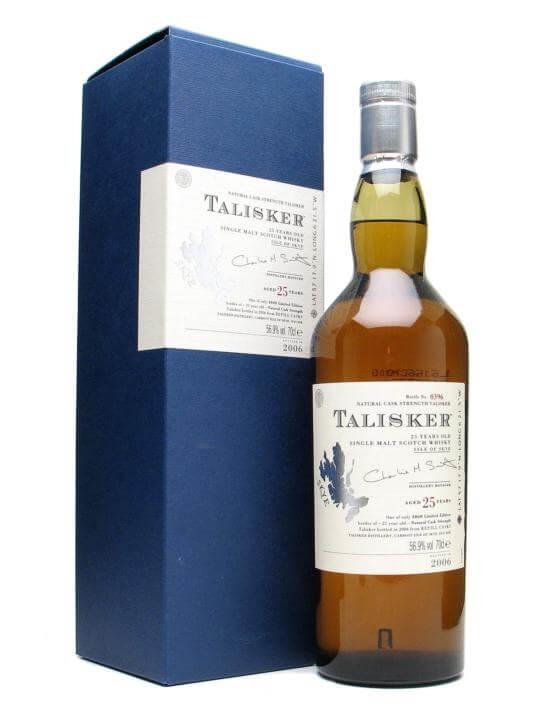 Talisker 25 Year Old / Bot.2006 Island Single Malt Scotch Whisky