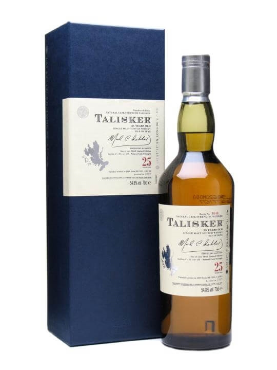 Talisker 25 Year Old / Bot.2009 Island Single Malt Scotch Whisky
