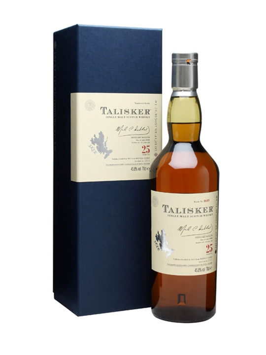 Talisker 25 Year Old / Bot.2011 Island Single Malt Scotch Whisky