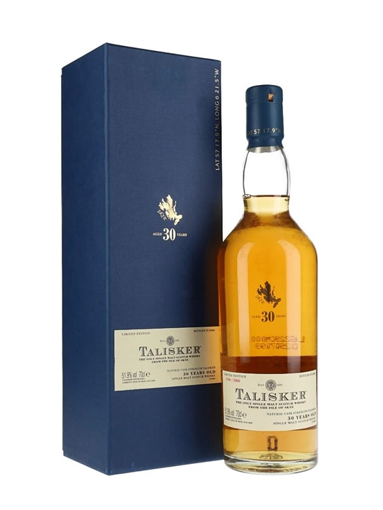Talisker 30 Year Old / Bot.2006 Island Single Malt Scotch Whisky