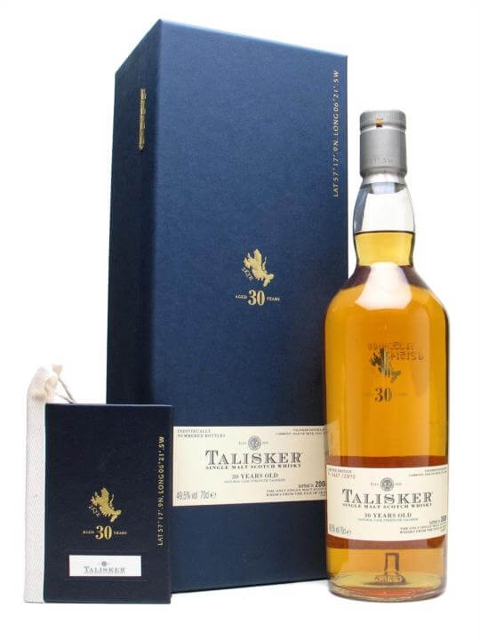 Talisker 30 Year Old / Bot.2008 Island Single Malt Scotch Whisky